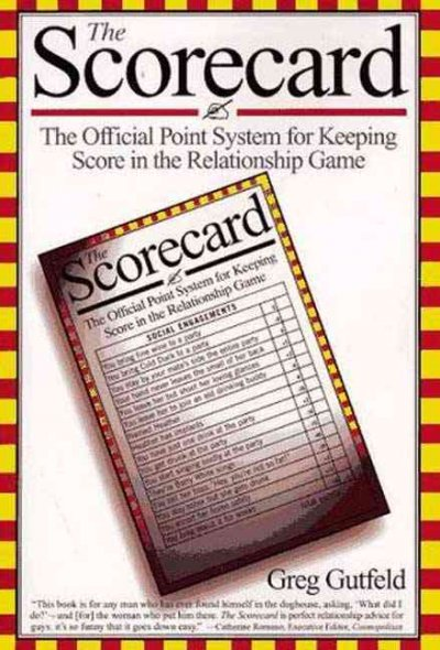 The Scorecard: The Official Point System for Keeping Score in the Relationship Game cover