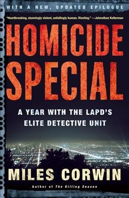 HOMICIDE SPECIAL cover