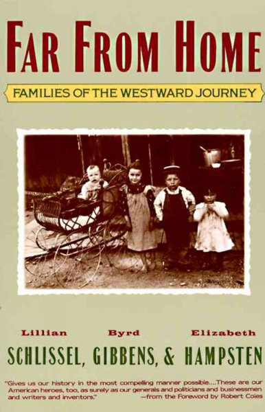 Far from Home: Families of the Westward Journey cover