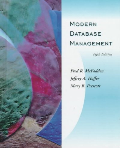 Modern Database Management (5th Edition) cover