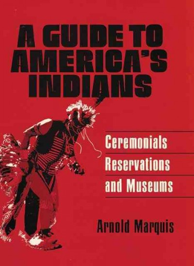 A Guide to America's Indians cover