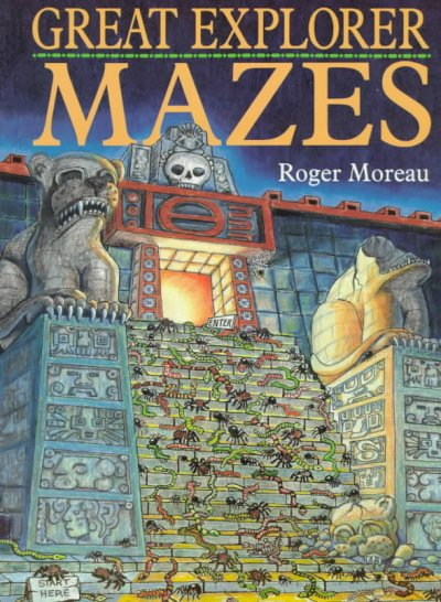 Great Explorer Mazes cover