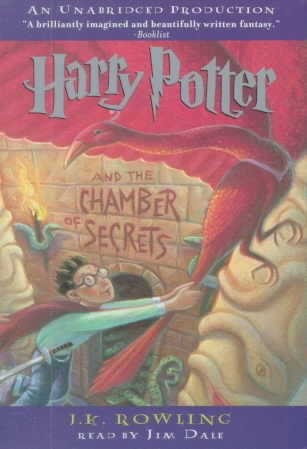 Harry Potter and the Chamber of Secrets (Book 2) cover