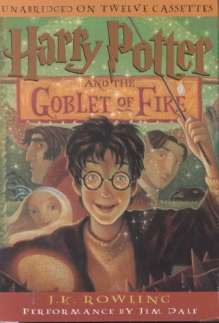 Harry Potter and the Goblet of Fire (Book 4) cover