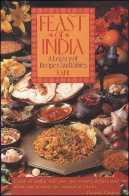 Feast of India: A Legacy of Recipes and Fables cover