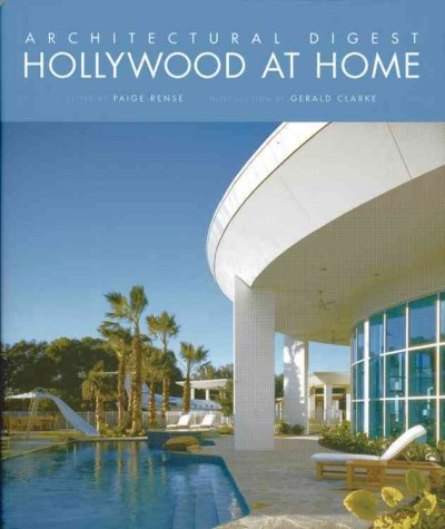 Architectural Digest Hollywood at Home cover