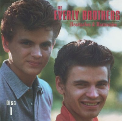 The Everly Brothers : Heartaches & Harmonies 4 Disc Box set cover