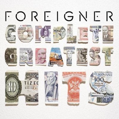 Foreigner: Complete Greatest Hits cover