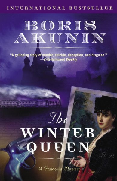 The Winter Queen: A Novel (An Erast Fandorin Mystery) cover