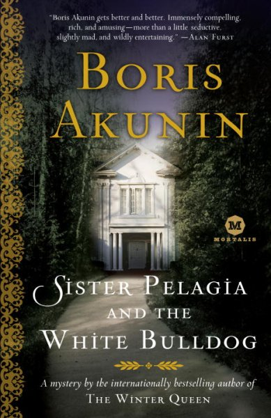 Sister Pelagia and the White Bulldog cover