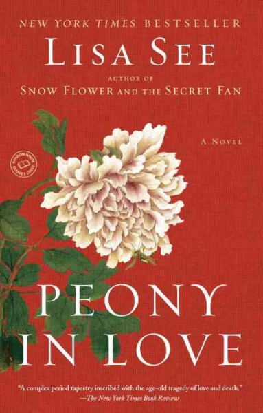 Peony in Love: A Novel cover