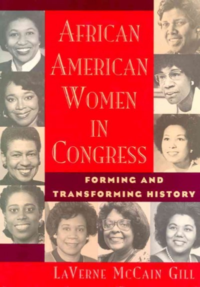 African American Women in Congress cover