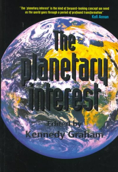 The Planetary Interest: A New Concept for the Global Age cover