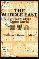 The Middle East: Ten Years After Camp David cover
