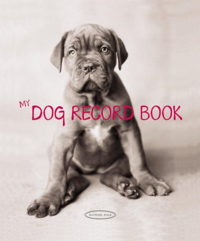 My Dog Record Book cover