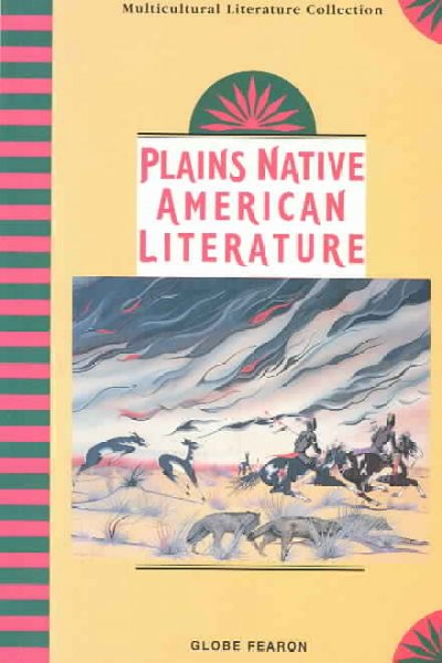 Plains Native American Literature (Multicultural Literature Collection) cover