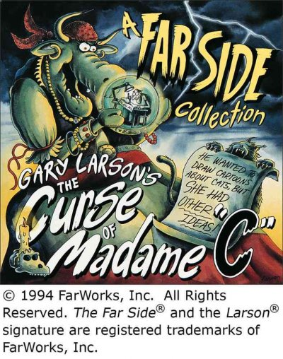 "The Curse of Madame ""C"" (A Far Side Collection) (Volume 20) cover"