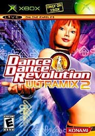 Dance Dance Revolution Ultramix 2 - Xbox cover