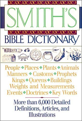 Smith's Bible Dictionary cover