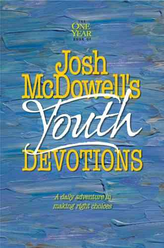 The One Year Josh McDowell's Youth Devotions cover