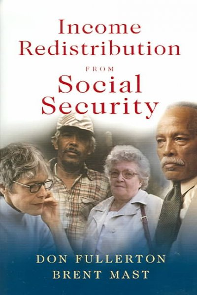Income Redistribution from Social Security cover
