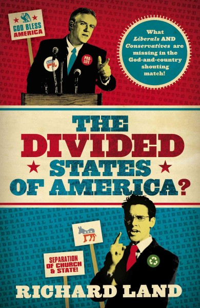 The Divided States of America?: What Liberals And Conservatives Are Missing in the God-and-country Shouting Match cover