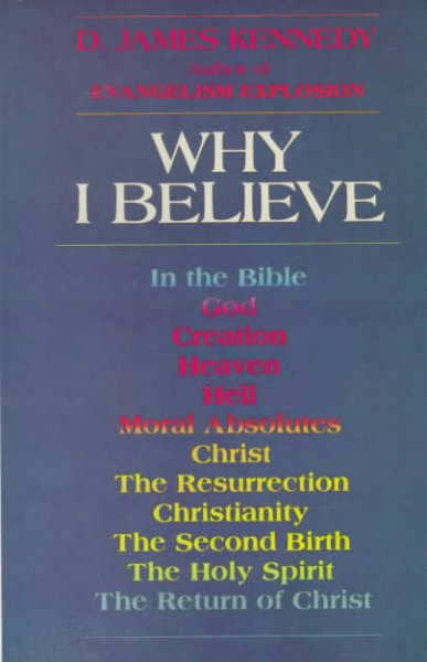 Why I Believe cover