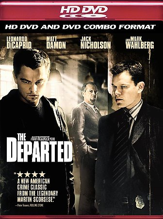 The Departed (Combo HD DVD and Standard DVD) cover
