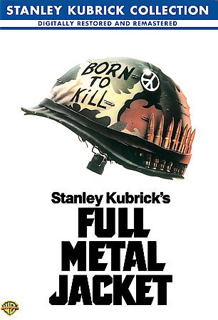 Full Metal Jacket (Kubrick Collection 2001 Release) (DVD) cover