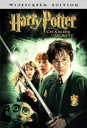 Harry Potter and the Chamber of Secrets (Single-Disc Widescreen Edition) cover