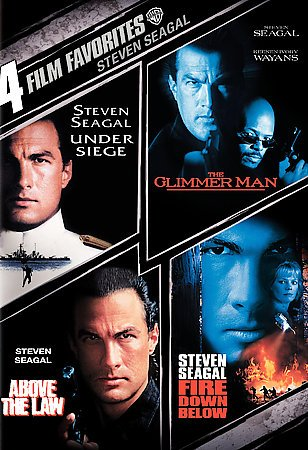 4 Film Favorites: Steven Seagal (Above the Law, Fire Down Below, The Glimmer Man, Under Siege) cover