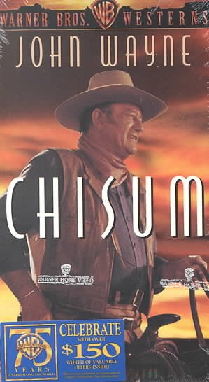 Chisum [VHS] cover