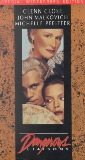Dangerous Liaisons [VHS] cover