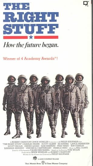 The Right Stuff [VHS] cover