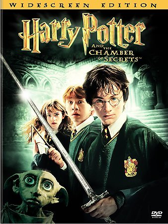 Harry Potter and the Chamber of Secrets (Widescreen Edition) cover