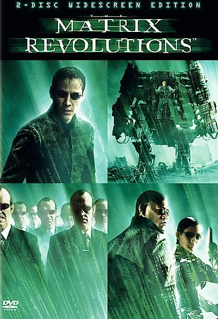 The Matrix Revolutions (Two-Disc Widescreen Edition) cover