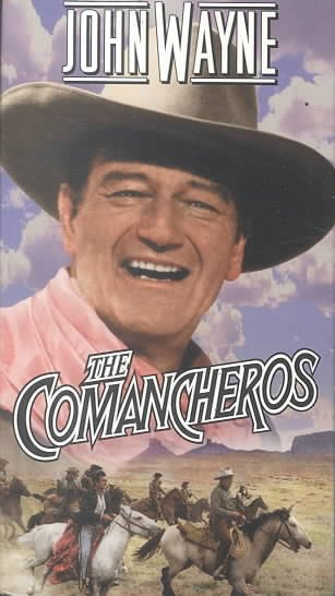 The Comancheros [VHS] cover