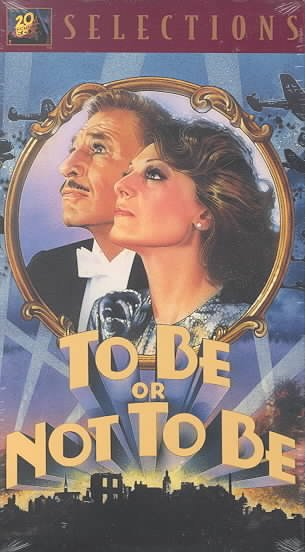 To Be Or Not to Be [VHS] cover