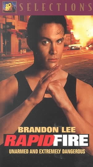 Rapid Fire [VHS] cover