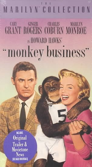 Monkey Business [VHS] cover