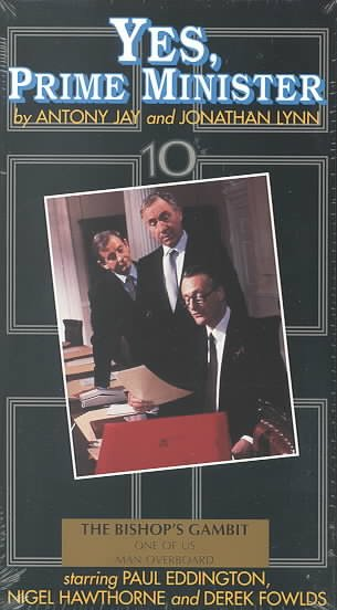 Yes, Prime Minister: The Bishop's Gambit [VHS] cover