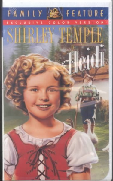 Heidi (colorized) [clamshell] [VHS] cover