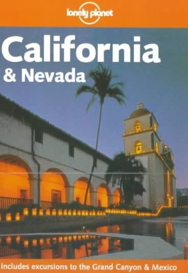 Lonely Planet California & Nevada cover