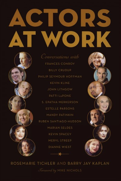 Actors at Work cover