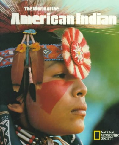 The World of the American Indian (Story of man library) cover