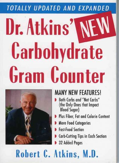 Dr. Atkins' New Carbohydrate Gram Counter cover