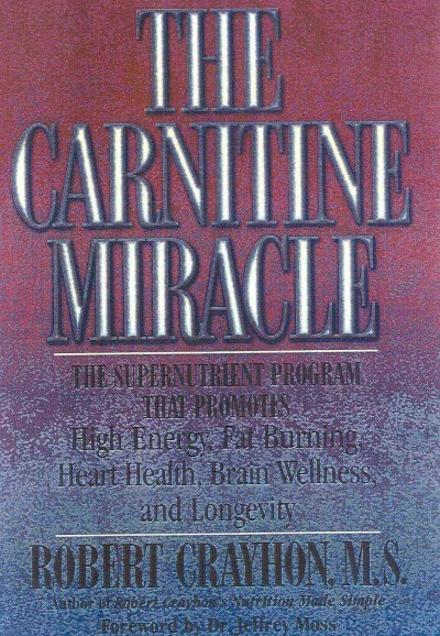 The Carnitine Miracle cover