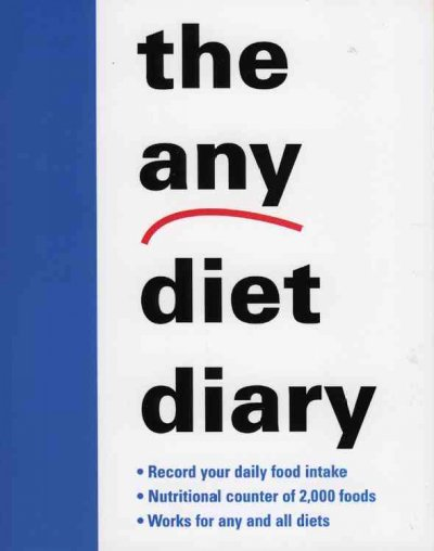 The Any Diet Diary cover