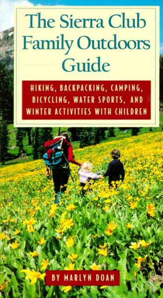 The Sierra Club Family Outdoors Guide cover