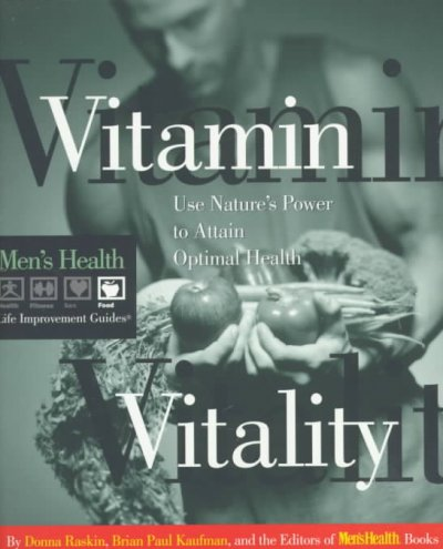 Mens Health Life: Vitamin Vitality (Men's Health Life Improvement Guides) cover